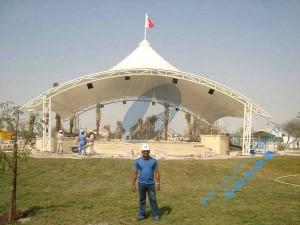 缅甸柏特广场膜结构